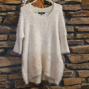 Size M/L Redberry soft knitted fluffy 3/4 sleeve jumper